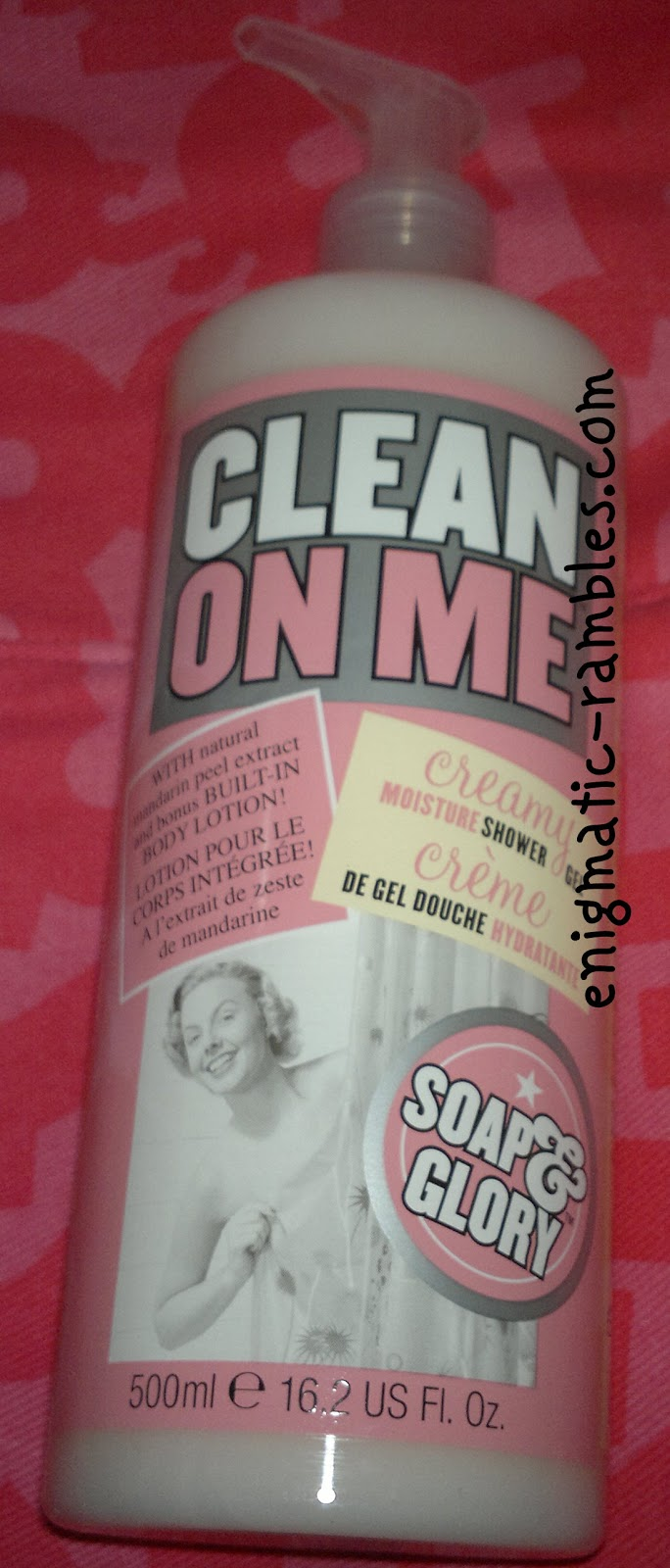 review-soap-and-glory-clean-on-me-shower-gel-creme-cream