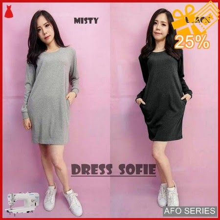 AFO677 Model Fashion Dress Sofie Modis Murah BMGShop