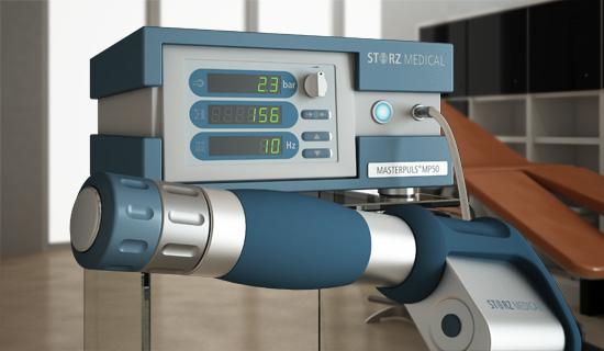 Ultrasonidos aplicados a la fisioterapia: STORZ MEDICAL