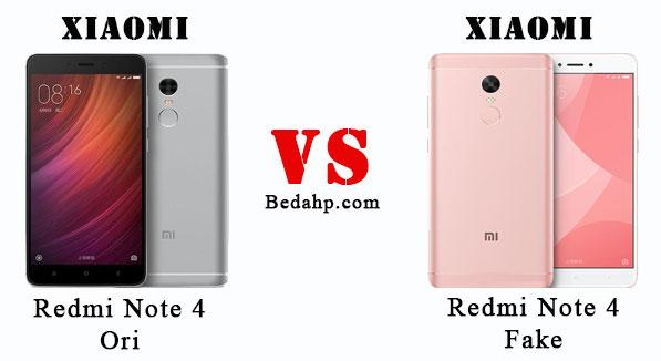 Cara Cek Xiaomi Redmi Note 4 Asli dan Palsu