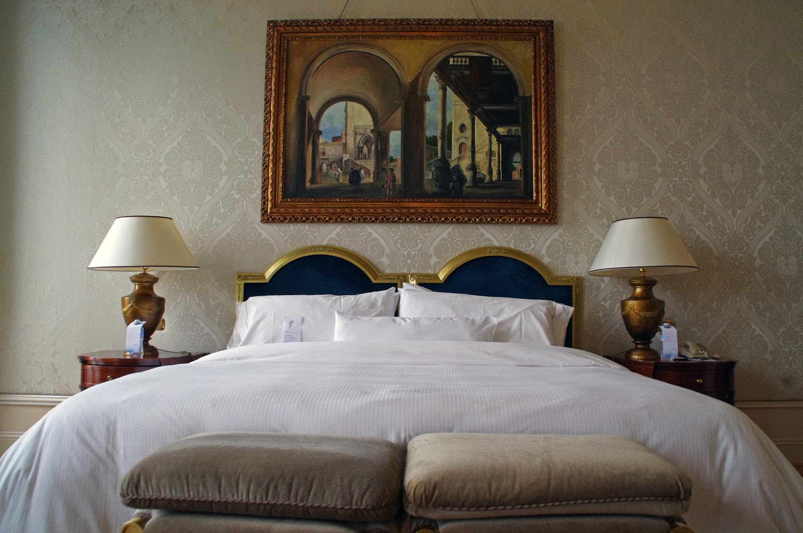 Westin Europa & Regina Venice heavenly bed