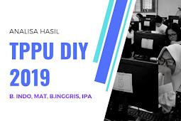 Analisa dan Kunci Jawaban Hasil Nilai TPPU DIY 2019 Tahap 2 Kota Yogyakarta
