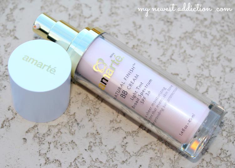 Amarte Skincare, Natural Finish BB Cream, Light Tint, SPF 36, beauty balm
