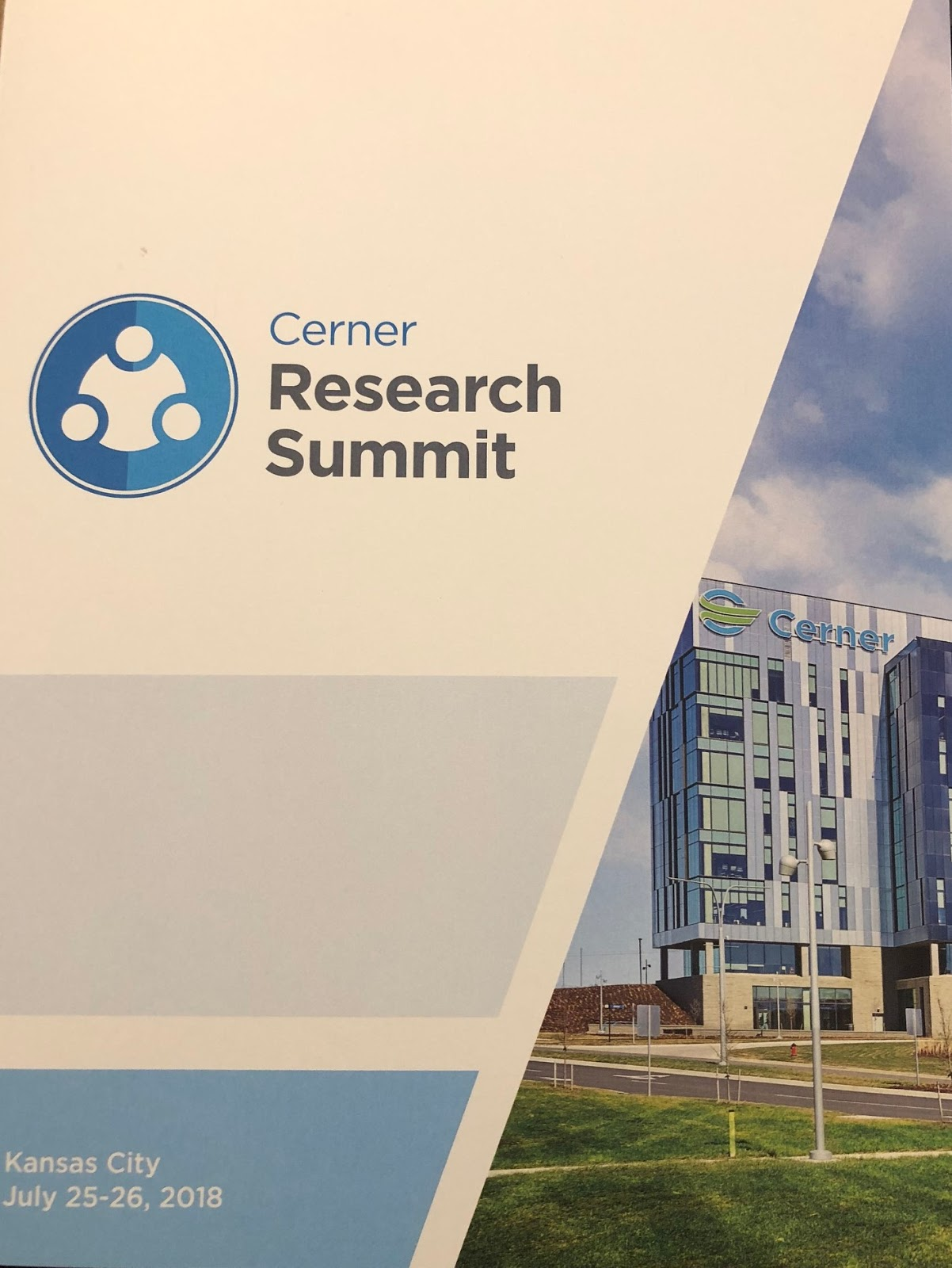 Notes from Neil: Cerner Research Summit