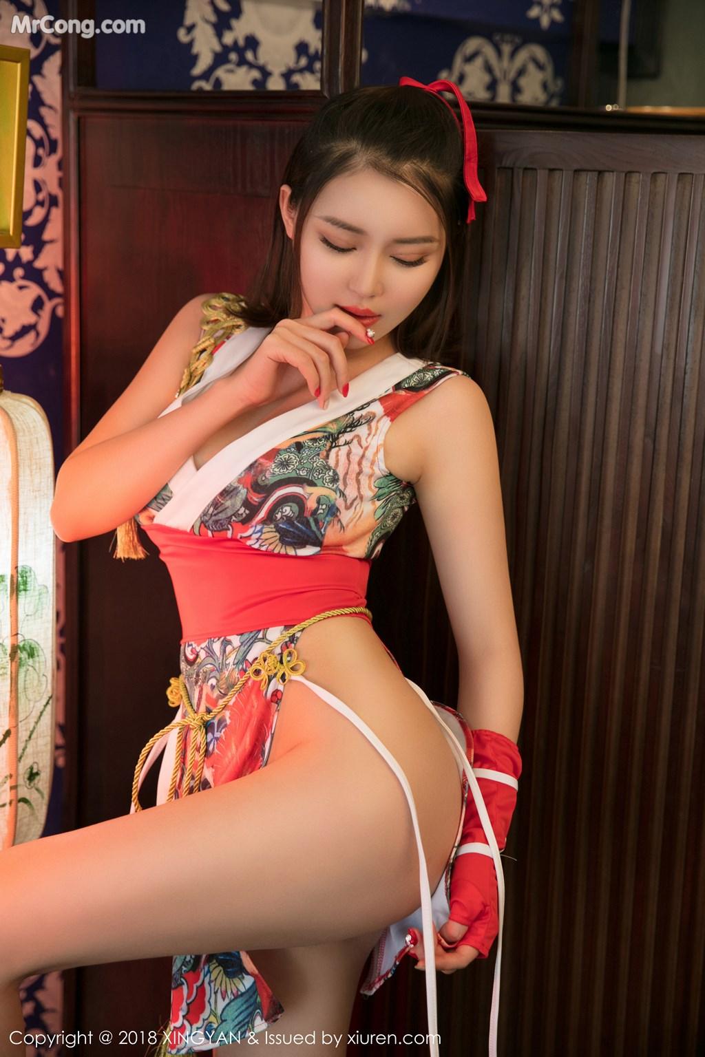 Image XingYan-Vol.028-MrCong.com-013 in post XingYan Vol.028: Người mẫu 廿十 (41 ảnh)