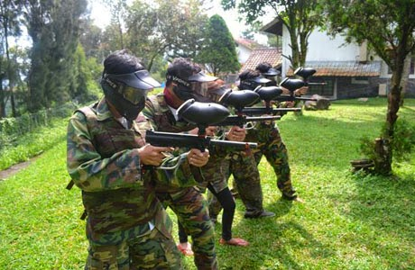 paintball bandungan outbound