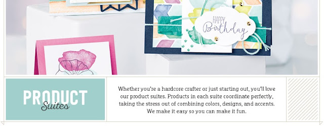 Take a look at the 22 Product Suites by Stampin' Up! which make crafting even easier!