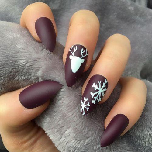 Best Christmas Nail Idea
