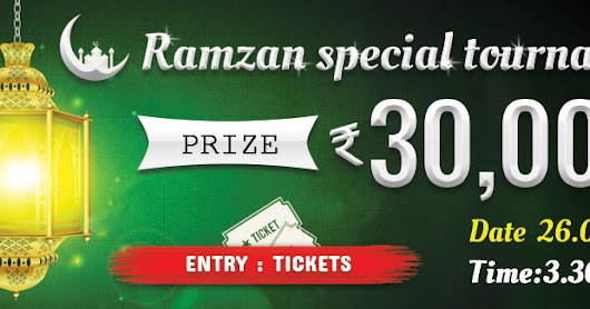 Special Rummy Tournaments – Play our Ramzan Special