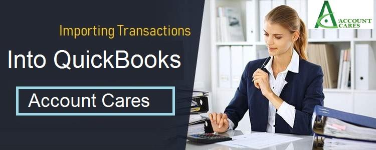 Convenient Ways To Import Transactions Into QuickBooks Online