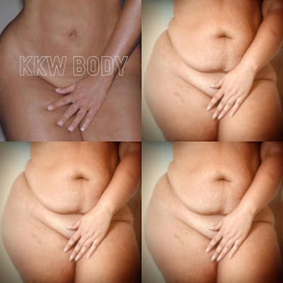 Body Positive Activist Recreates Kim Kardashian's Naked Perfume Ad