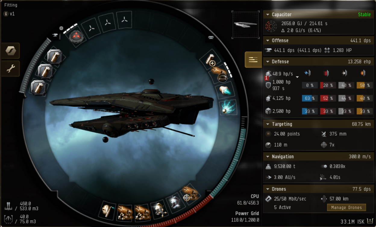 EVE Online Mission: May 2018