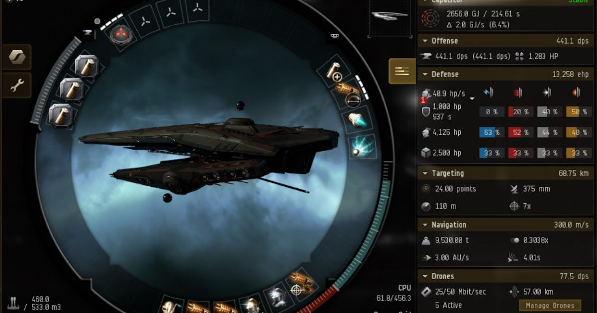 EVE Online Mission: Vedmak Tier 5 Abyssal Deadspace Fit