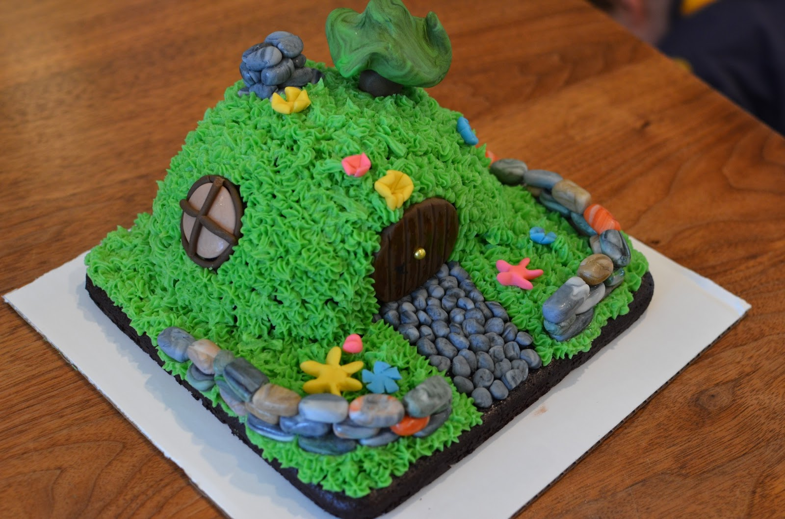 The Princess And The Frog Blog A Hobbit House Cake