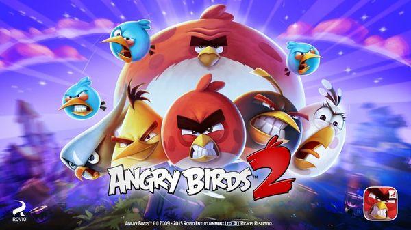 تنزيل لعبة الطيور الغاضبة Angry Birds 2 للاندرويد وايفون اخر اصدار مجانا