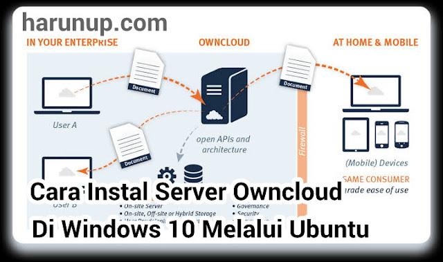 Cara Instal Server Owncloud Pada Windows 10 Melalui Ubuntu