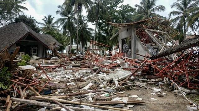 Sebanyak 30% Bangunan di KEK Tanjung Lesung Rusak Disapu Tsunami