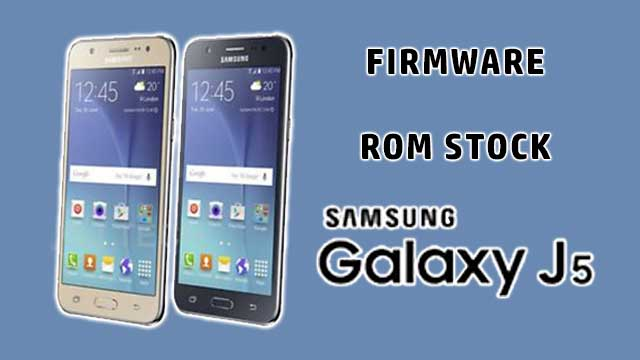 Firmware - rom stock Samsung Galaxy J5 Duos SM-J500H/DS Clon [MT6572]