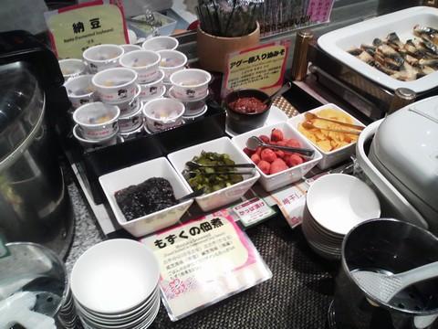 ビュッフェコーナー:漬物 AlettA(アレッタ)ロコアナハ店