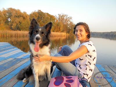 Konie i psia łapa nad Rusałką - z rękodziełem na spacerze