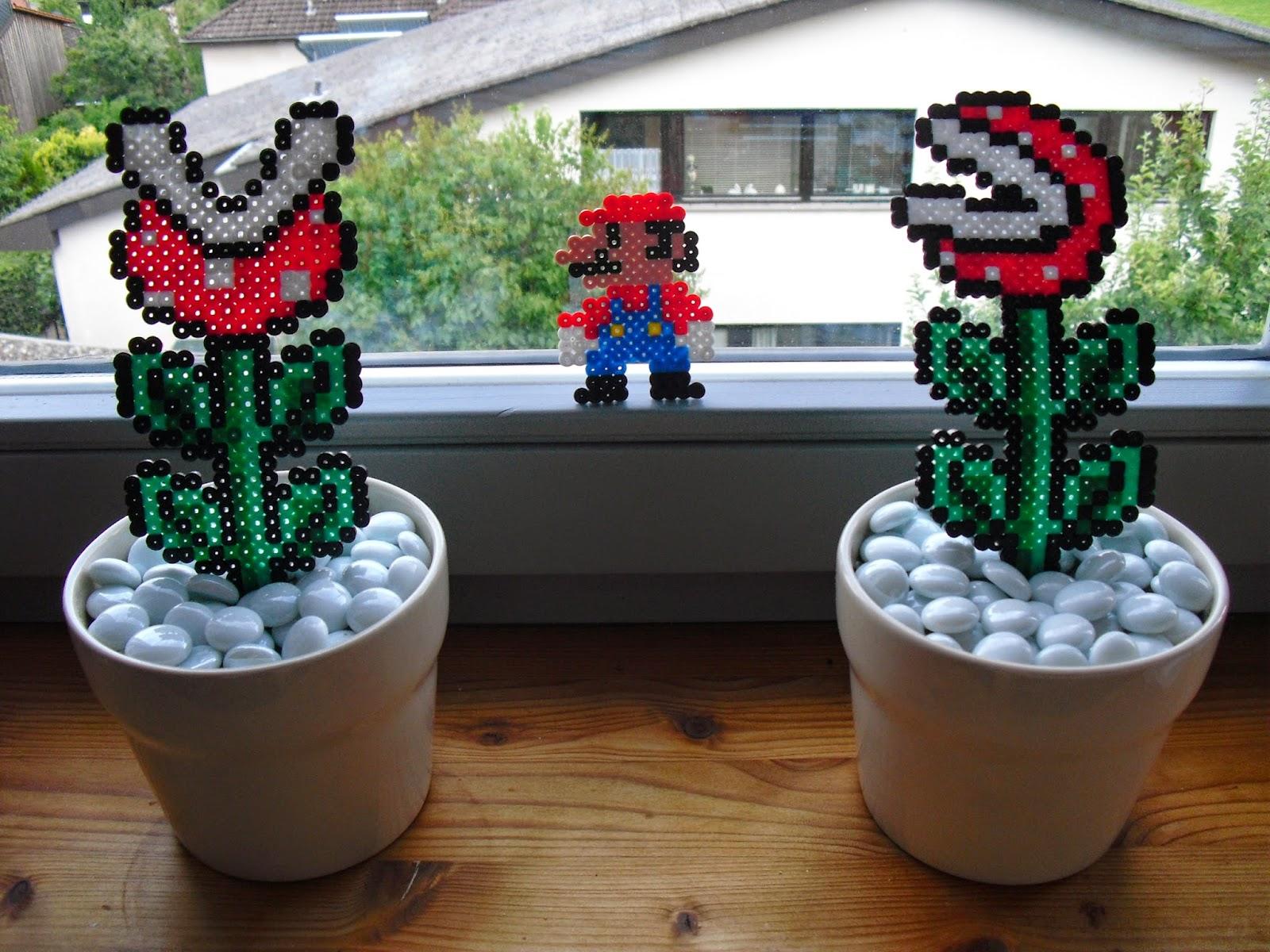 Mario Im Blumenrausch Vorlage