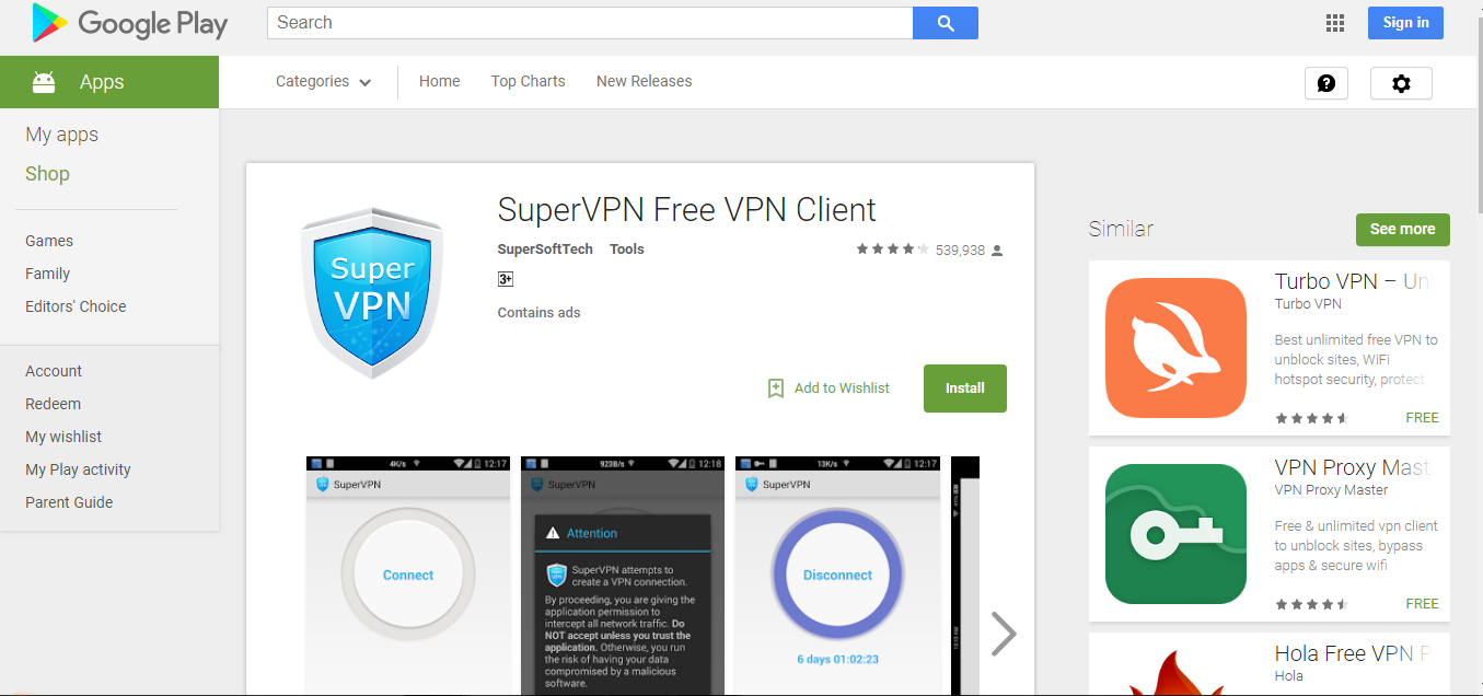 Free mobile vpn for ios