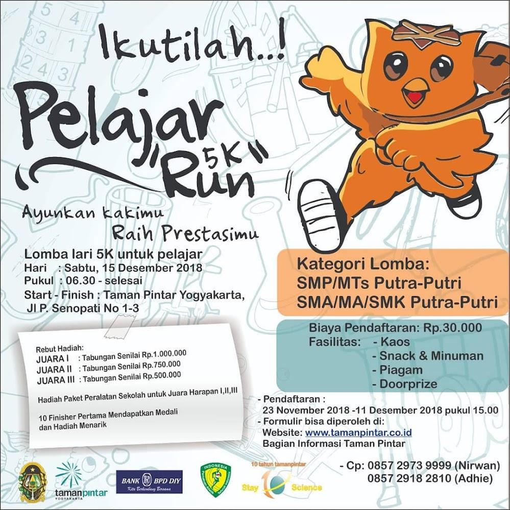 Taman Pintar Fun Run • 2018