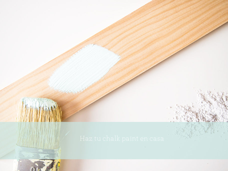 1º taller presencial de chalk paint en Bilbao