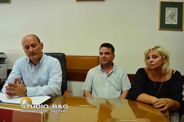 Επίσκεψη του Γραμματέα των ΑΝ.ΕΛ. στο Άργος