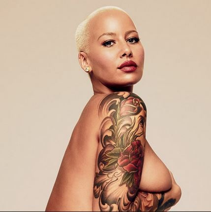 Bootylicious Former Stripper, Amber Rose Opens Up on Her 'Threesome' S*xual Experience