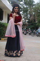 Actress Aathmika in lovely Maraoon Choli ¬  Exclusive Celebrities galleries 019.jpg