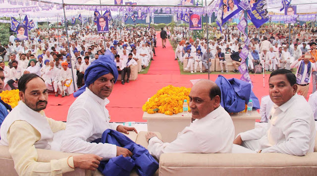 Faridabad BJP leader Man Dheer Singh Maan join BSP