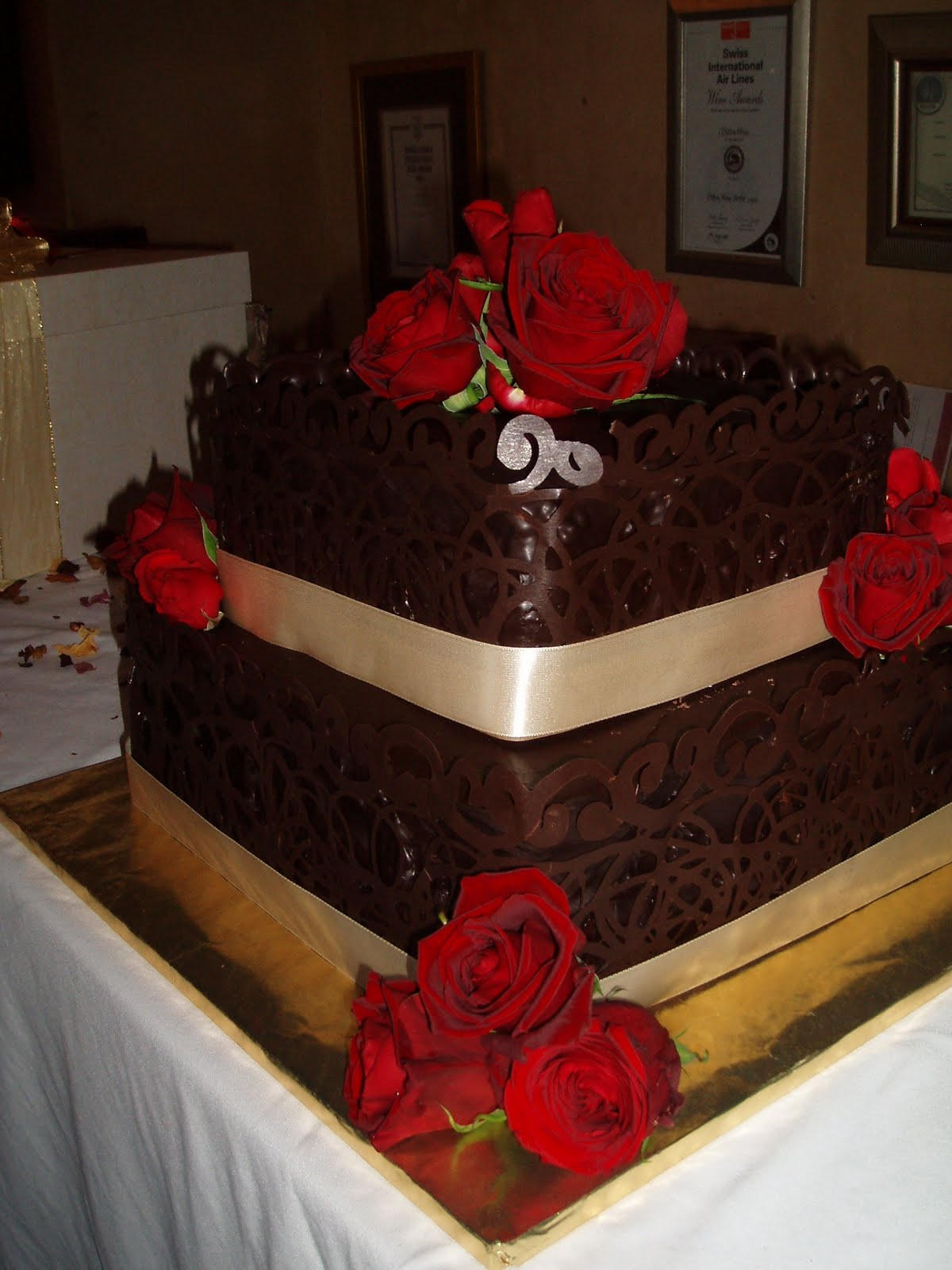 chocolate mousse wedding cakes south africa nelie s decadent cakes s wedding cake 12732