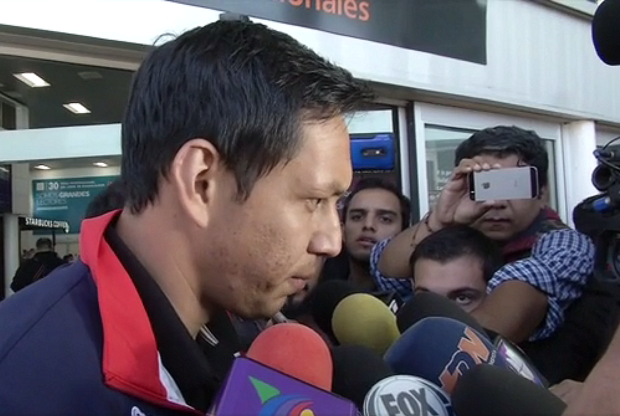 Rodolfo Cota, cancerbero del Guadalajara.