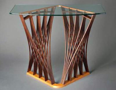 meja minimalis sederhana dengan konsep unik