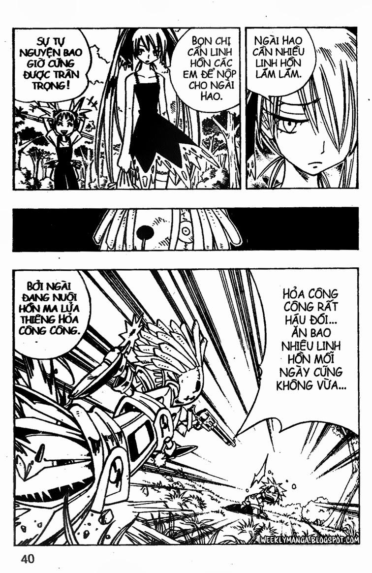 Shaman King [Vua pháp thuật] chap 149 trang 18