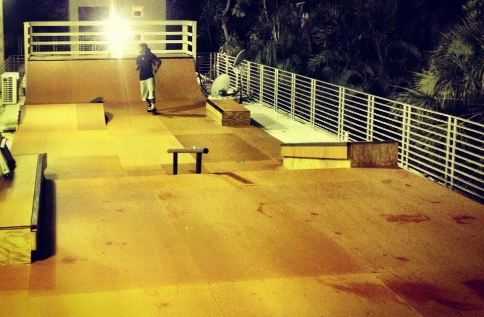 The Hop Skaters Gonna Skate Lil Wayne S Rooftop Skatepark