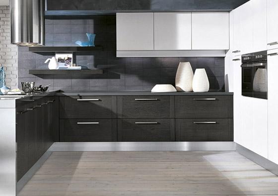 Consigli per la casa e l 39 arredamento arredamento moderno cucina e porte di tendenza - Come abbinare cucina e pavimento ...