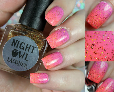 Night Owl Lacquer Sunshine |  Light & Bright Collection