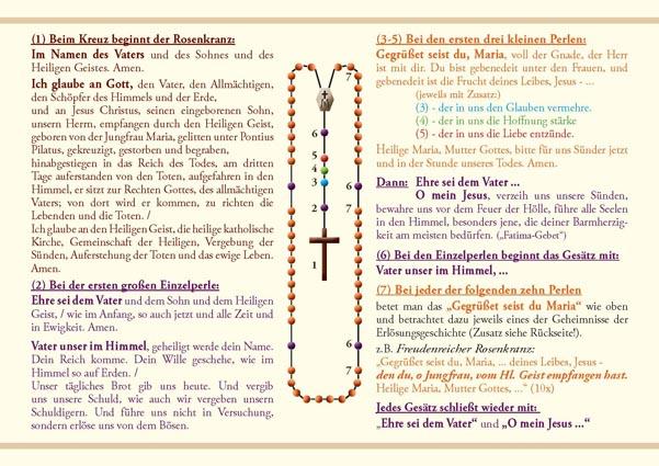 Rosenkranz Beten Text
