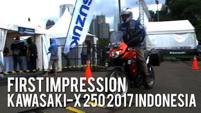 [VIDEO] First Impression Kawasaki Versys-X 250 2017 Indonesia