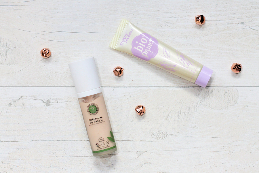PHB Beauty Botanical BB Cream and Neve Cosmetics Brightening BioPrimer