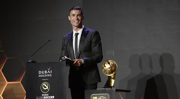 Globe Soccer Awards : Cristiano Ronaldo remporte le Prix du meilleur joueur de l'année