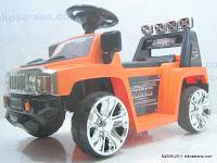 Mobil Mainan Aki DOESTOYS DTV3 HUMMER dengan Kendali Jauh