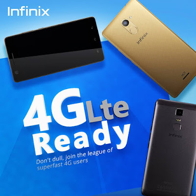 Infinix Phones That Supports 4G LTE in Nigeria and Kenya