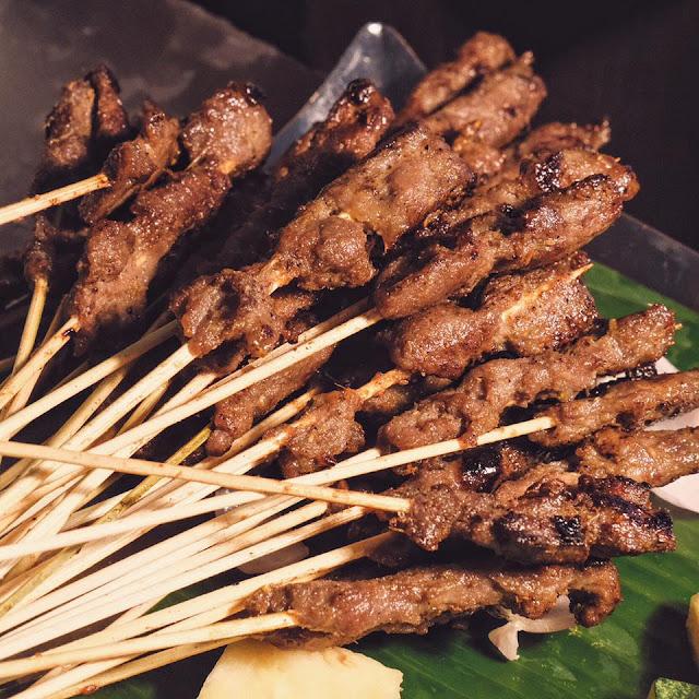 Chicken Satay Buffet