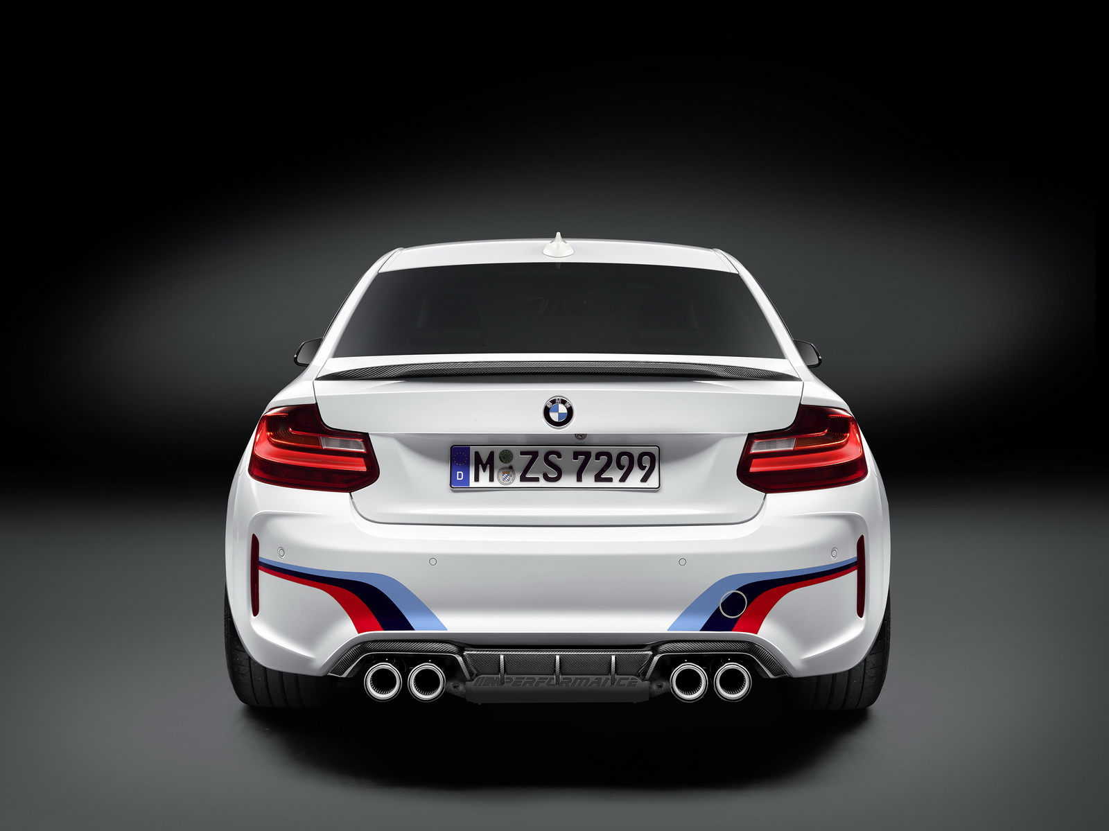 bmw launches m performance parts for the m2 coupe. Black Bedroom Furniture Sets. Home Design Ideas