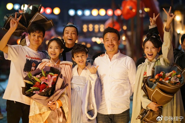 The Story of Ming Lan Zhang Jianing complete filming