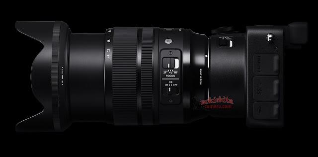 Sigma 24-70mm f/2.8 DG OS HSM с камерой SG Quattro H