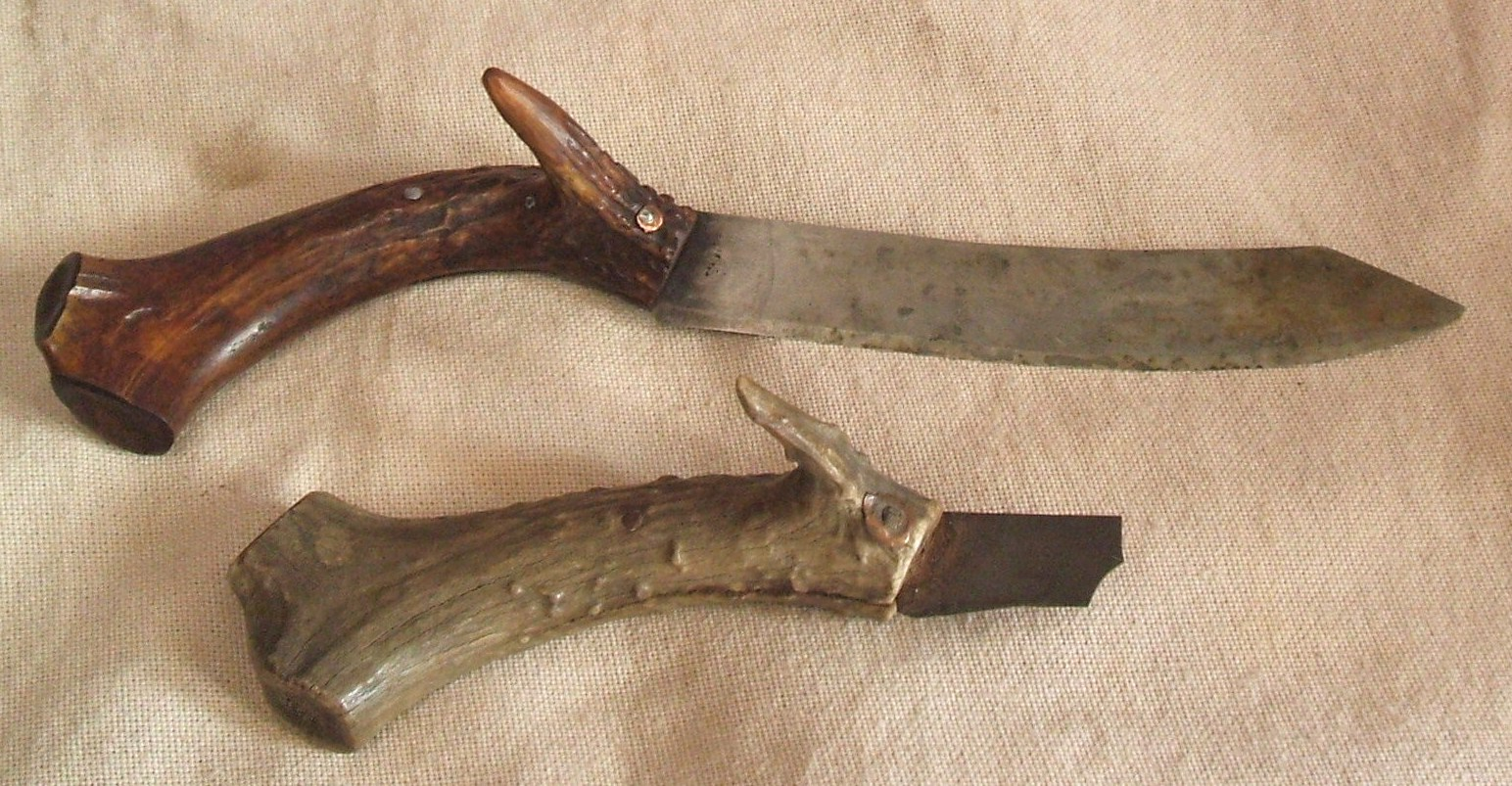 Contemporary Makers Recreating An Early Antler Handled Trade Knife